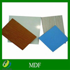 4*8ft 18mm thickness melamine glue raw mdf board made in china
