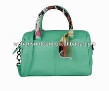 Trendy green Leather Tote Bag Popular Shoulder Bag