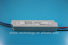High quality 12v 1000ma led driver, CE RoHS with two years warranty