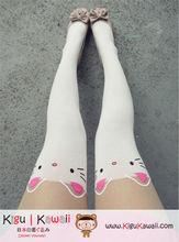 New White kitty Tattoo Stockings Pantyhose Leggings Tights Pants KK76