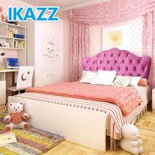 girls queen size beds/girls single beds/modern girls bed