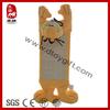 Novel design new soft plush cartoon garfield plush pet toy