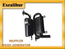 muffler of diesel generator