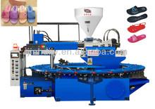 PVC air blowing shoes making machine