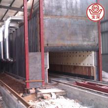 8000 ton/day Coal fired clay brick tunnel kiln in India