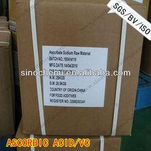 factory supply high quality ascorbic acid vitamin c food grade