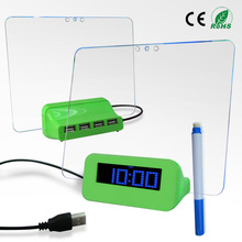 electric table weather forecast clock