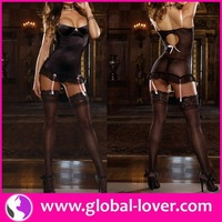 2015 hot selling satin slip cheap sexy mature lingerie ladies