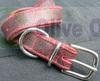 genuine leather dog collar