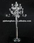 cheap wedding crystal candelabra