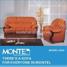Furniture,Sofa,Classic Leather Sofa Set