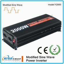 2KW modified sine wave solar power inverter,12v dc to 240v ac inverter