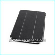 Black pu case for samsung galaxy note 8 N5100