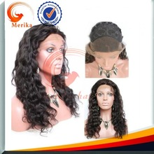 Free shipping loose wave brazilian virgin lace front wigs