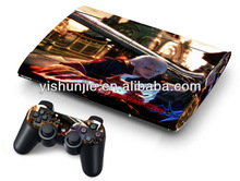 high quality manufactory decal cover for PS3 super slim cartoon skin sticker