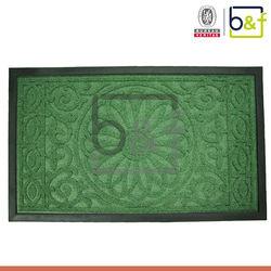 fashion design factory floor mats rubber