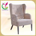 Mobiliário suave, luxo single sala sofá cadeira yc-f020
