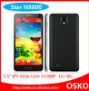 cheap 5.5'' QHD MTK6592 Octa core 1.7GHz 1G+8G Dual SIM 3G Android 4.3 mobile phone N8800