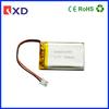 603048PL 3.7v 900mah li-ion battery