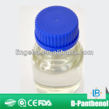 Producing d-panthenol in beauty products manufacture