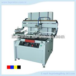 PVC Pneumatic flatbed Screen printer