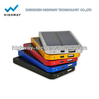 OEM high quality solar mobile charger,cheap mini portable solar battery mobile charger