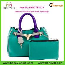 Hot sale Fancy ladies handbags wholesale neoprene purses and ladies handbags
