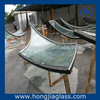 double curved glass laminated temperd glass curved bend sheet glass