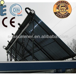 Russia solar collector system Swimming pool solar collectors