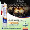 250C Long Term 100% Heat Resistance Silicone Based High Temp Caulk