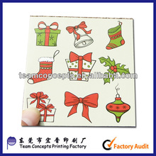 2014 colorufl cute mini gift cards packing with envelopes made in Dong Guan