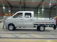 Double cabin gasoline mini truck