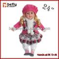 24 pollici giocattoli vera bambola per i bambini 3 anni