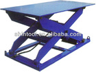 Electric stationary hydraulic adjustable work platform