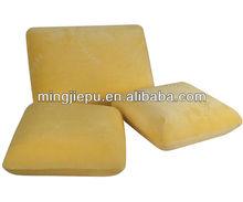 Memory foam traditional pillow/square memory foam throw pillow