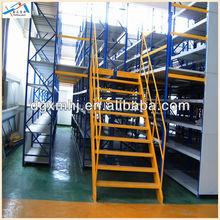 steel bakery bread racks light duty multi-level mezzanine