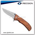 bolso faca com punho de madeira do exército faca