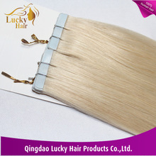Factory direct sale tape hair extensions 6A 7A top quality double sided tape hair extension
