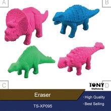 dinosaur eraser & rubber 3d animal erasers