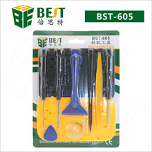 BEST-602 17 in 1 Mobile phone repair opening tools, disassemble tools kit for iPhone, iPad, Smart Phones, Tablet, PC