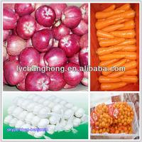 Fresh garlic and fruits in China