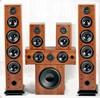 Hifi Wooden household & karaoke 5.1 home audio speaker