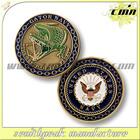2014 USA Hot Sale Antique Bronze Custom Metal Souvenir Coin For Military