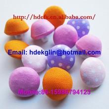 1/2 ball shirt button/ fabric cover buttons for garment