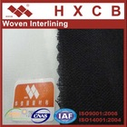 Polyester Garment Fusible Woven interlining Fabric for bandage dress