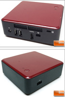 the best mini pc Intel nuc Kit ntel QS77 2 x 204Pin Intel HD Graphics 4000 Integrated by CPU Mini / Booksize Barebone System