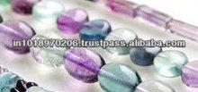 Natural Flourite Free Form Smooth Beads Hot Jaipur