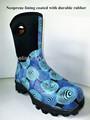 Alta calidad de moda de goma de neopreno a prueba de agua botas para la mujer