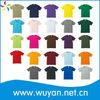 Custom basic t-shirt/hot basic t-shirt/t-shirt basic rib neck