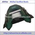 мини алюминиевой сиденья судно на воздушной подушке надувная лодка
